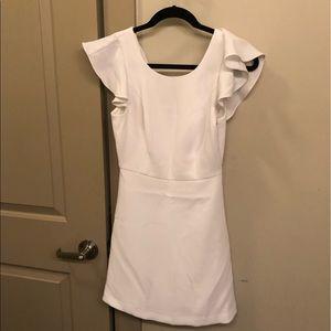 BCBG White Dress 0